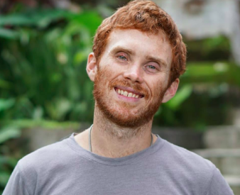 Lead organizer, permaculture teacher, founder of woven earth - Brandon Bodhi