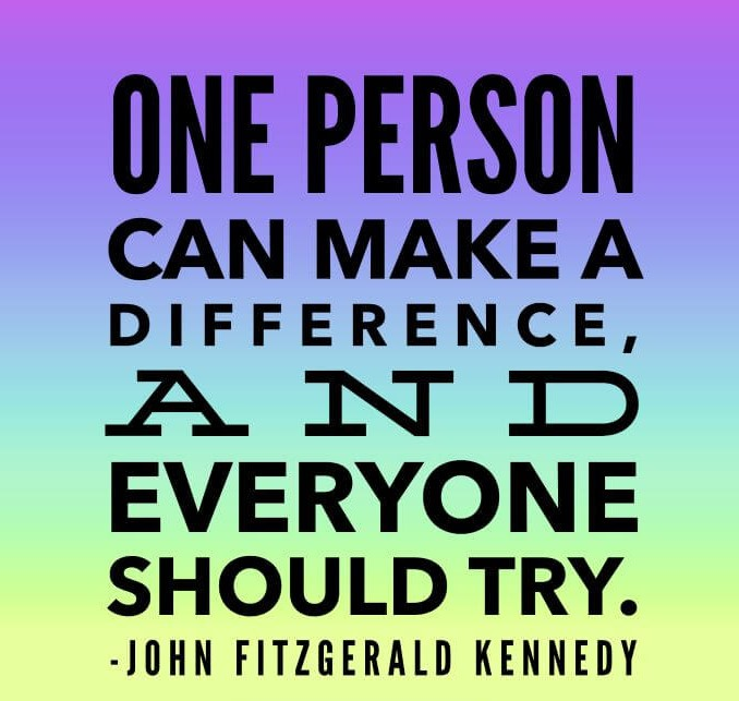 one-person-make-a-difference