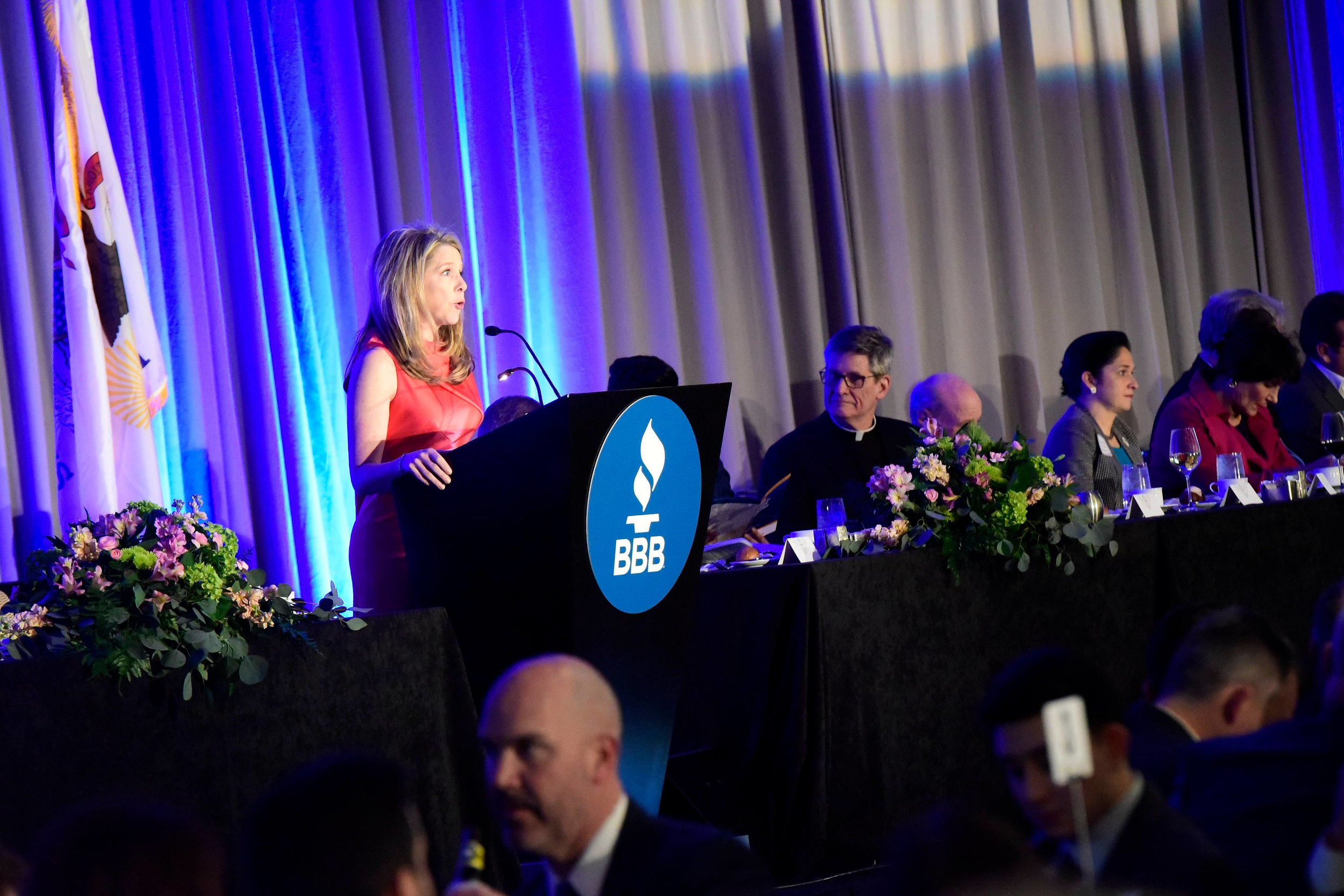 Master of Ceremonies: BBB of Chicago Annual Dinner Meeting  1000 Business Leaders Attended
