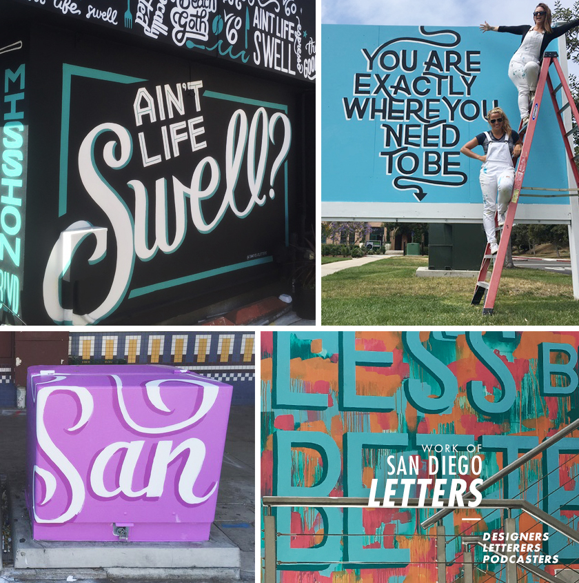 Work of San Diego Letters—Designers, Letterers, Podcasters
