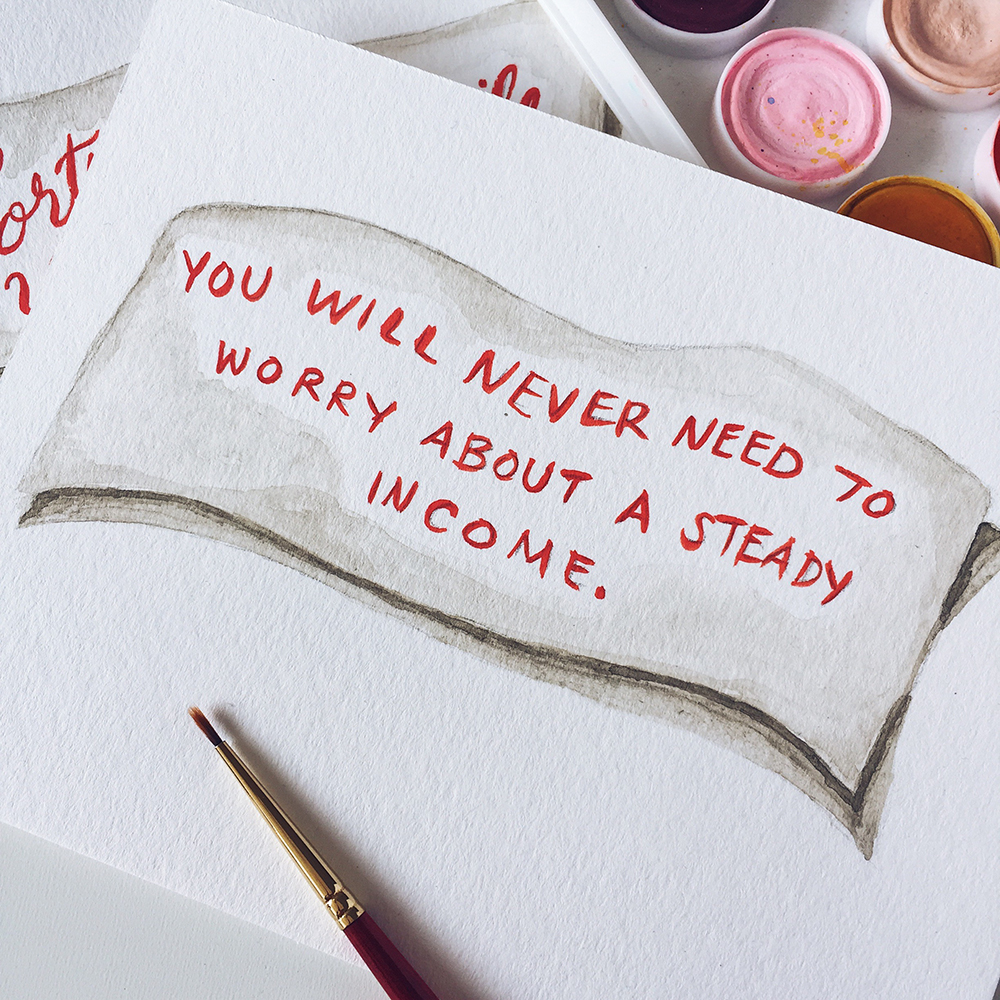 Chinese Fortune Cookies—Life's Happy Oracles // You will never need to worry about a steady income. // Curiosities Allowed // Creative blog of Lizelly Meza