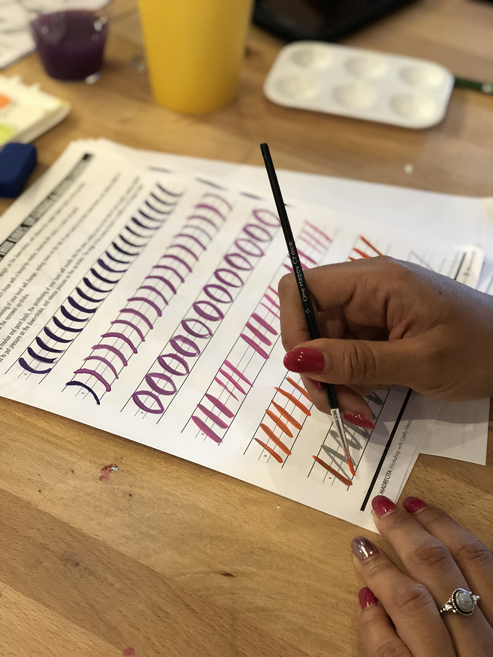 Creating Your Gratitude & Appreciation Art—A Workshop // Curiosities Allowed // Creative blog of Lizelly Meza