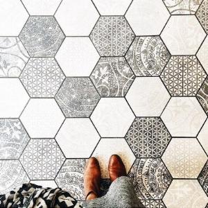 Hexagon Tiles Meghan Winsor Design