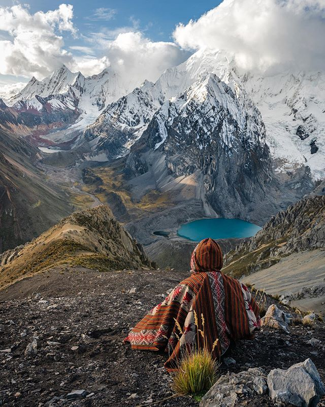 Impossibly beautiful views from the legendary Huayhuash Trek, Peru. Possibly the most scenic trek in the world! 🇵🇪 #AllAboutAdventures
