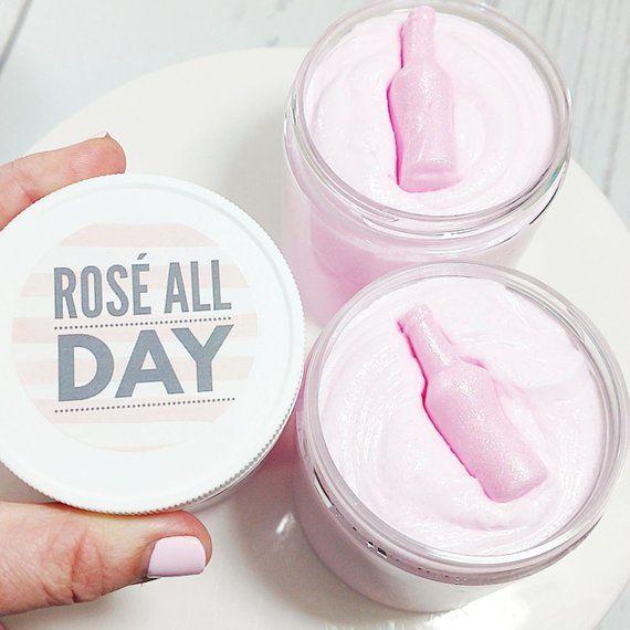 Rosé ALL Day Sugar Scrub, $15 @ Etsy