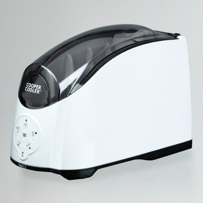White Cooper Cooler™ Rapid Beverage & Wine Chiller, $69.99 @ World Market