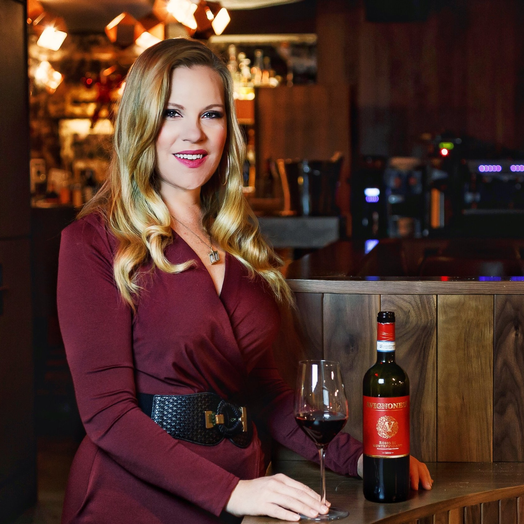 Sommelier Sarah Tracey