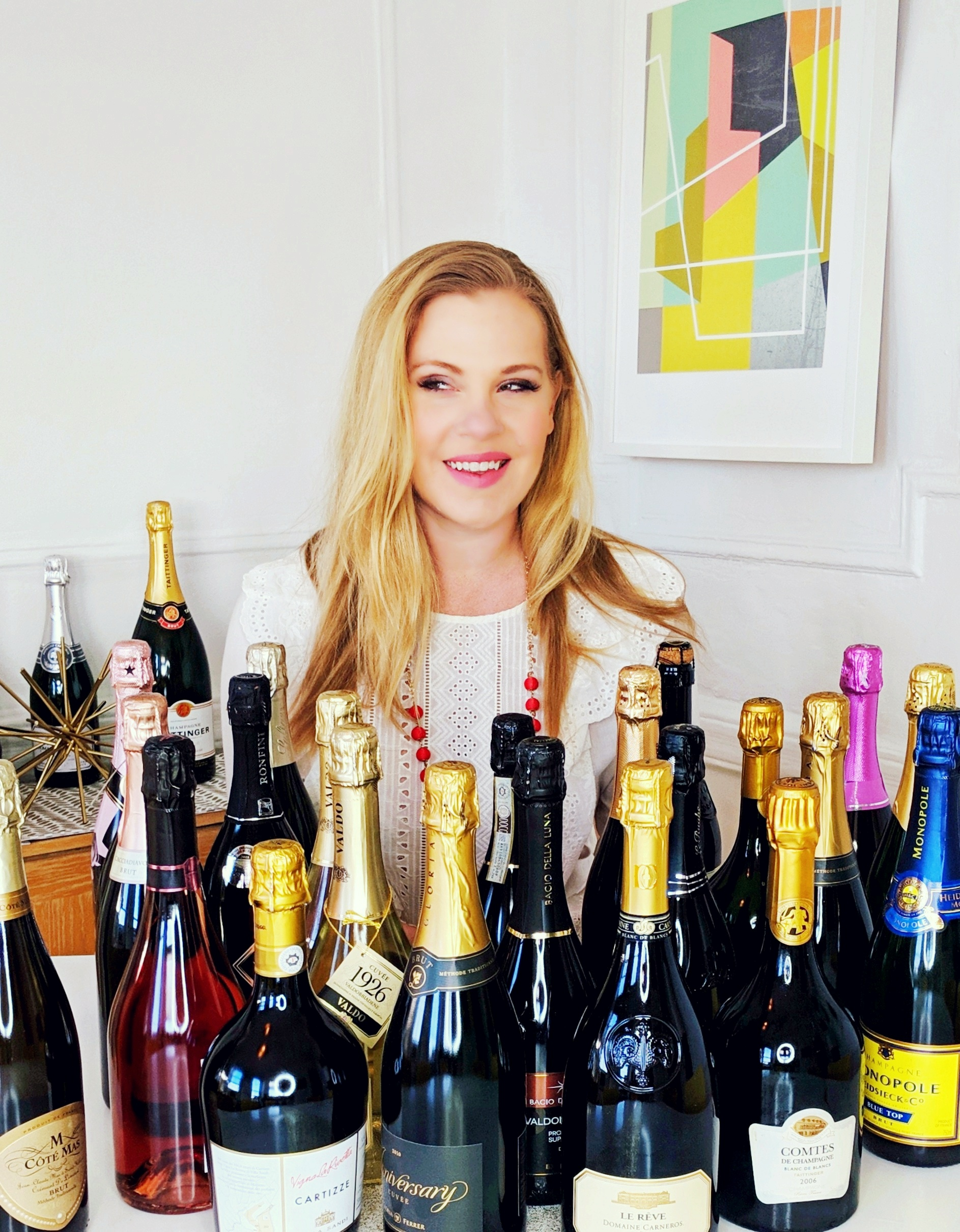 About Your Sommelier... - Before we go any further, let me introduce myself: I'm Sarah, the founder of The Lush Life, and I'm a sommelier, wine educator, and event consultant based in Brooklyn. I'm almost always in the mood for Beyoncé and almost always in the mood for Champagne. I believe that opening a bottle of wine is the cheapest and quickest way to travel the world without leaving your sofa, and that life is way too short not to drink wines that you absolutely love!If you ever wished you had a cool sommelier friend to help you navigate the complex world of wine, you're in the right place.I'm so glad you're here! Some articles to get you started are below... cheers!