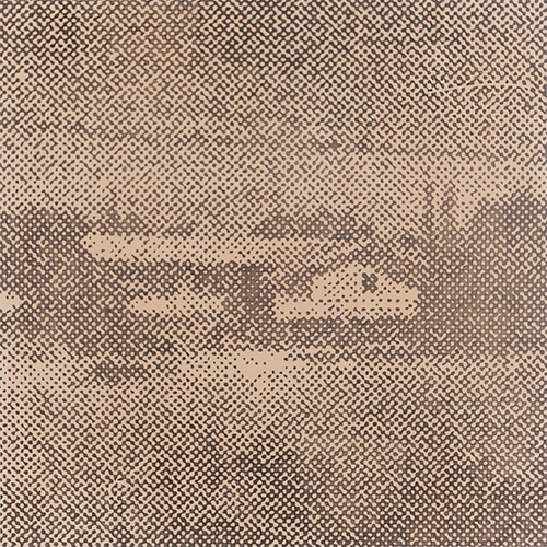 David Russ   Residential Landscape #8   2015. Graphite and pastel on paper, 50 x 50 cm.