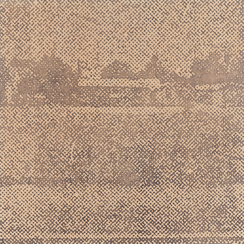 David Russ   Residential Landscape #7   2015. Graphite and pastel on paper. 50 x 50 cm.