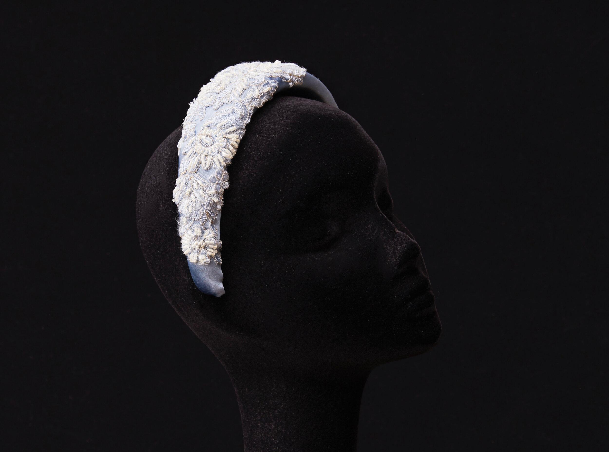 Beaded Bouquet Headband