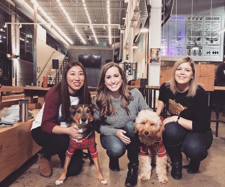 Gillian Mattox, Kylie Bearse, and Emily Berezni (Butterscotch & Maple)