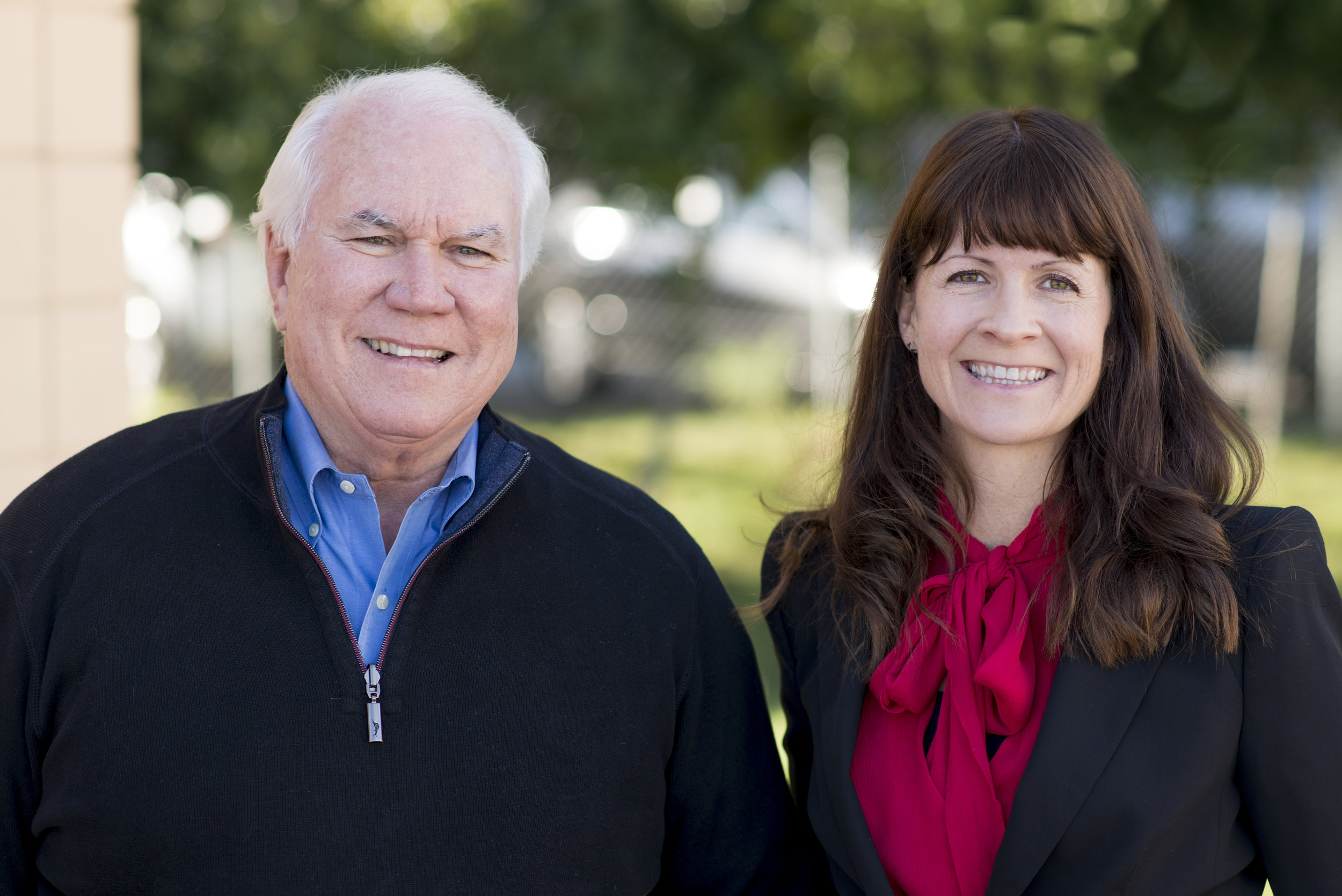 Pat Gallagher and Stephanie Martin, Big Game Bigger Impact authors