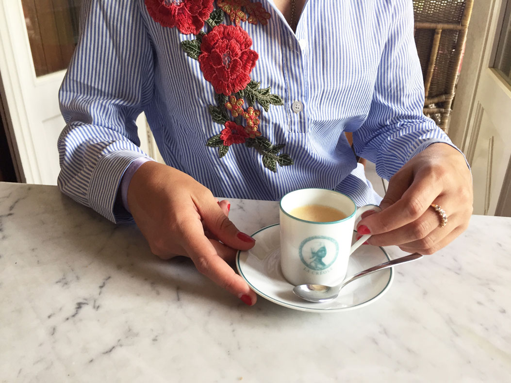 Soubiran- Luxury personalized espresso cup dinnerware