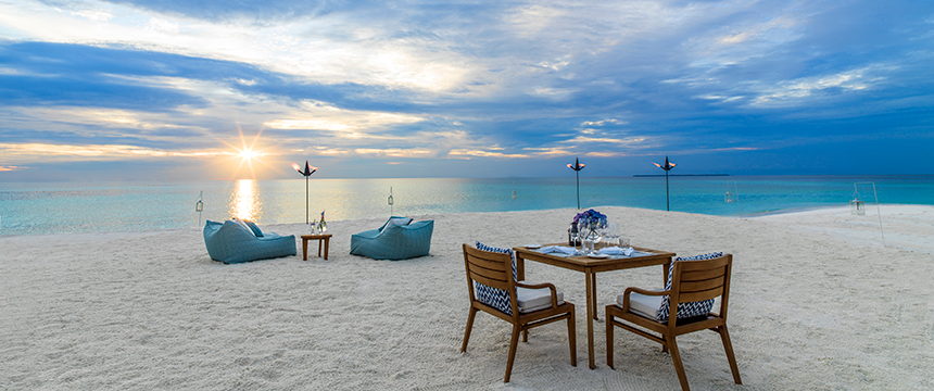 Private Sandbank Dining