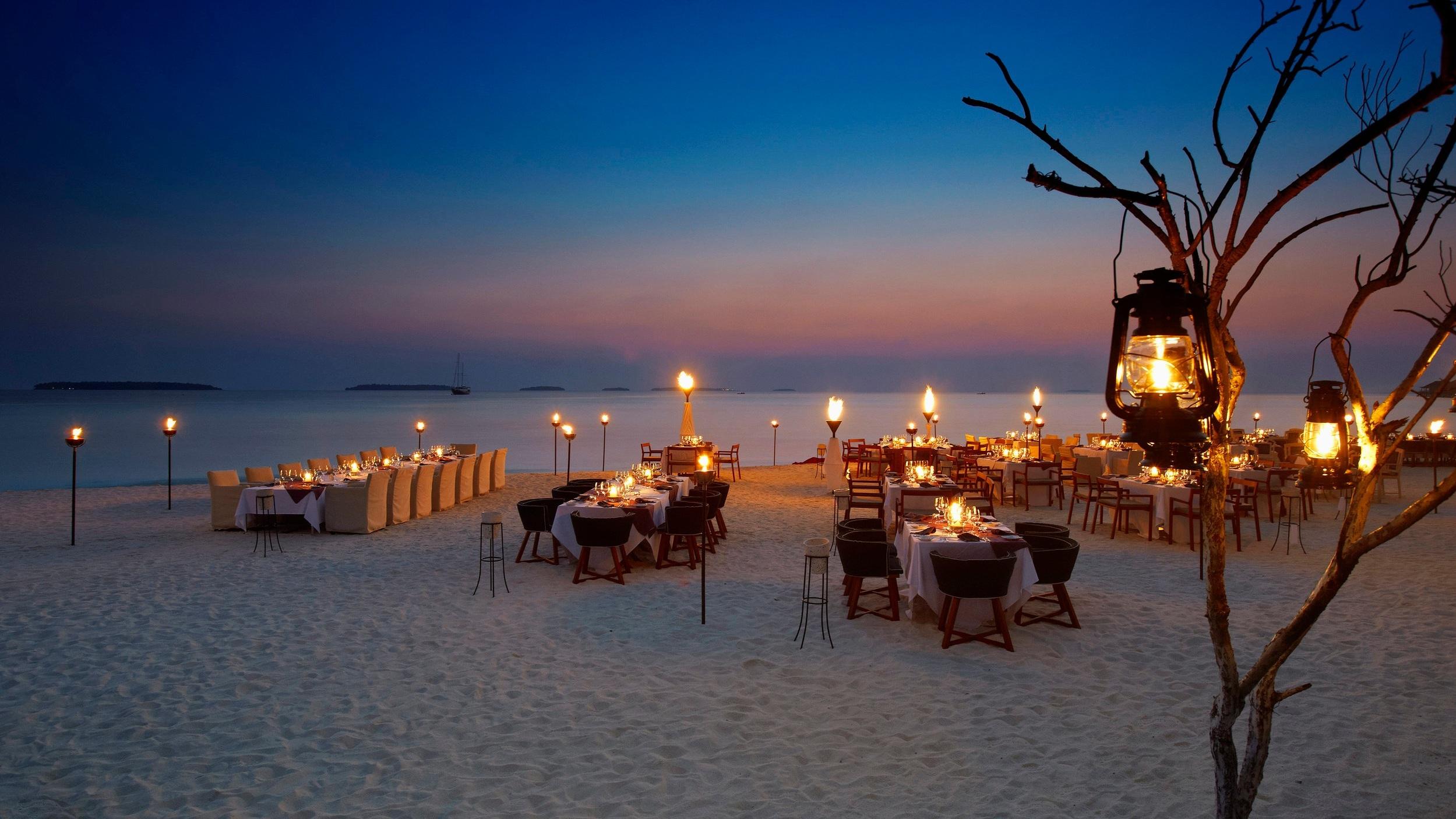 Manzaru Special Occasion Beach Dining
