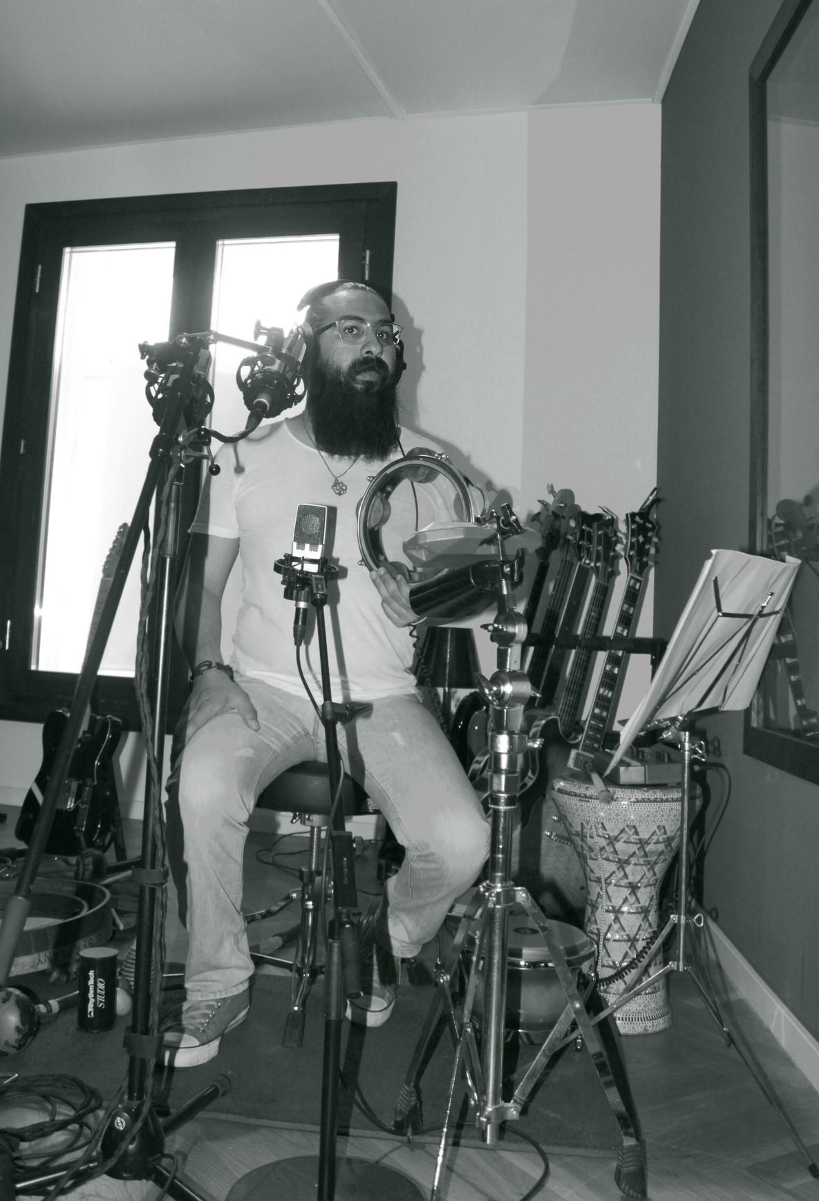 ayman and his drums.jpg