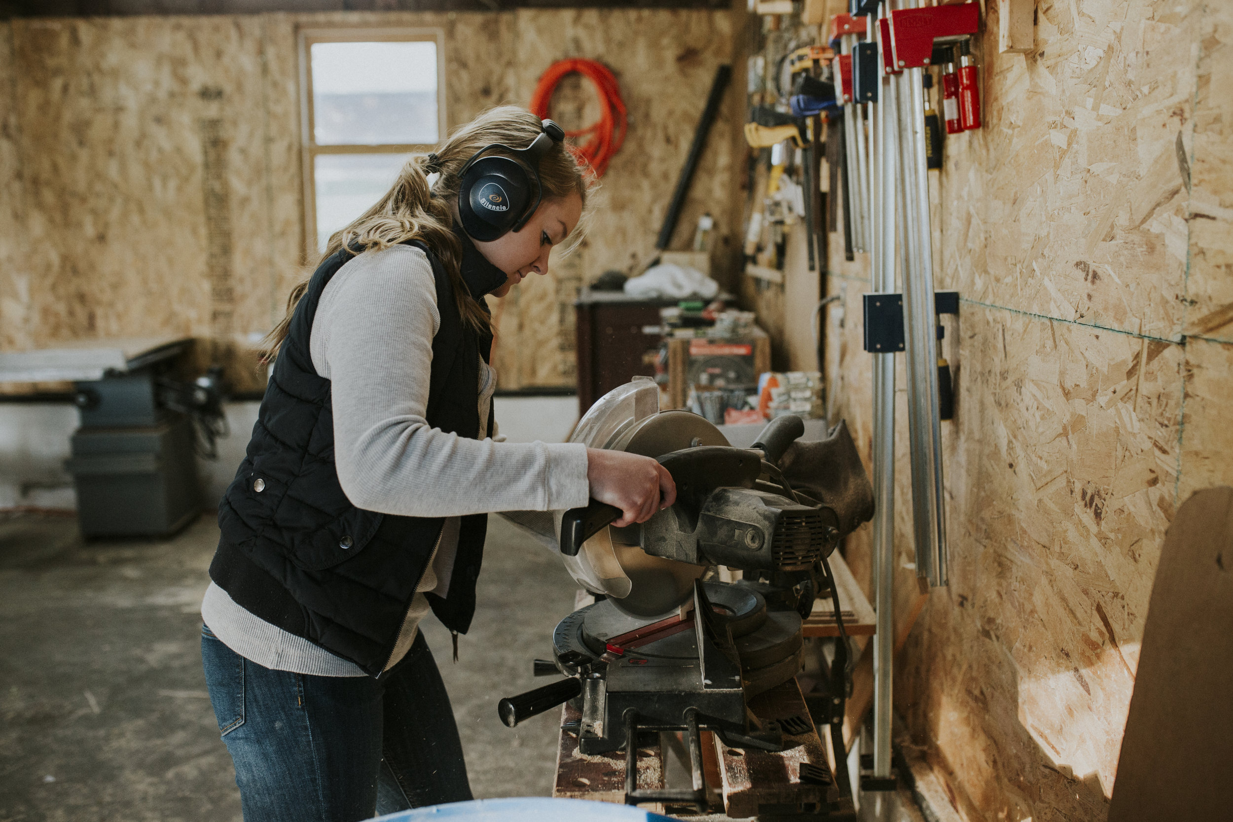 what it's like being a woman woodworker - the victories and struggles