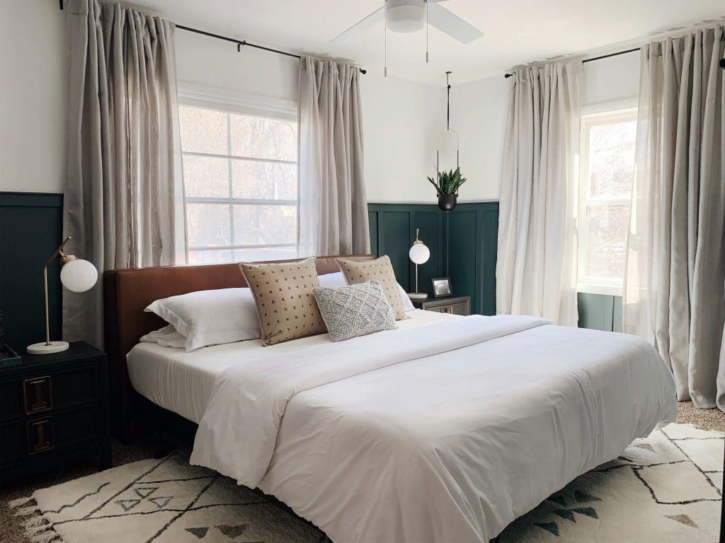 Bedroom Makeover by Chris Loves Julia