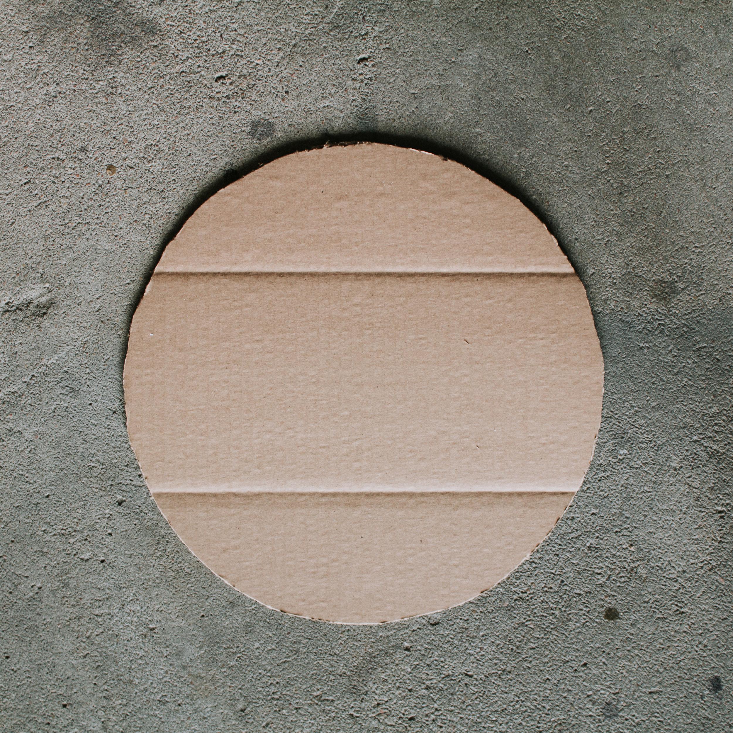 Cut out a circle