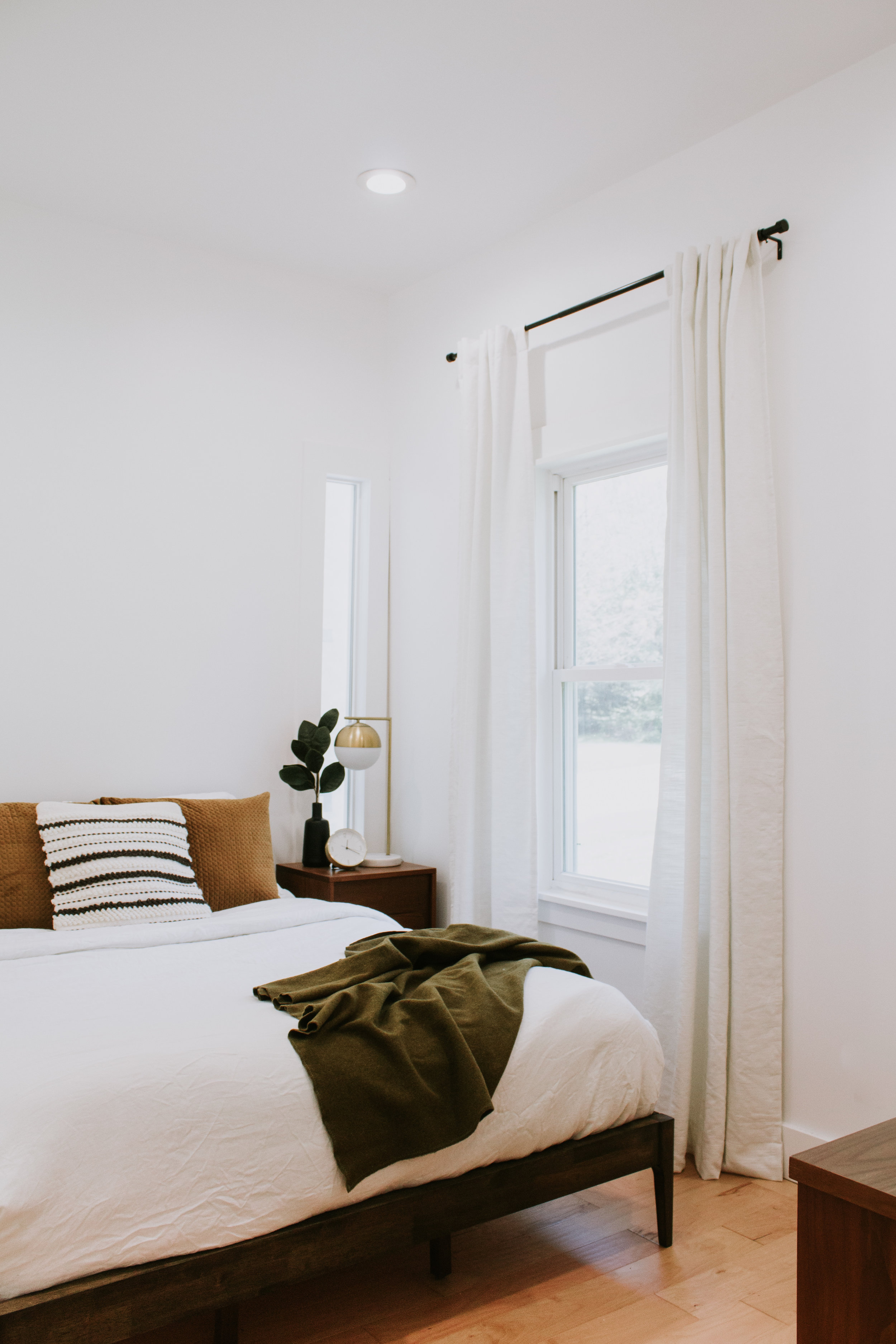 My Window Treatment update that made all the difference. Curtains, drapes, and panel tips for the home. How to hang curtains. Interior Design tips by Nadine Stay.