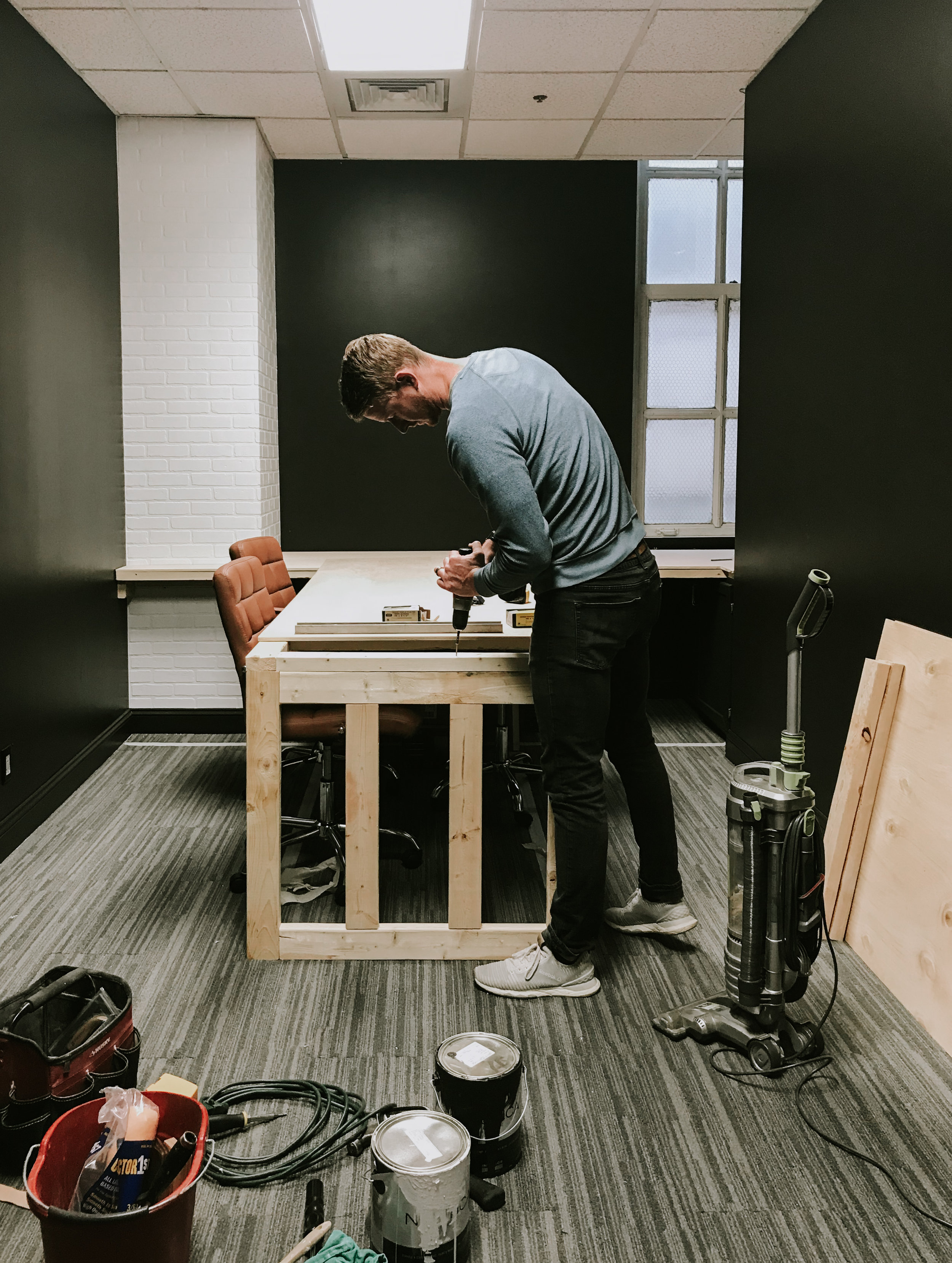 Life Update - Thoughts on sharing an office, our podcast recording studio, our paused remodel, and business shifts with Nadine Stay.