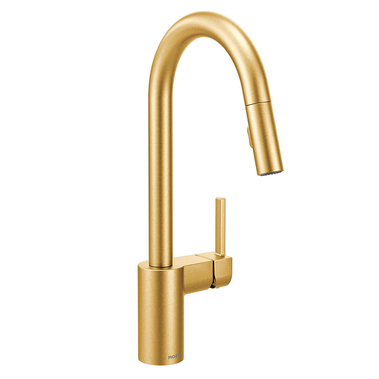 The High/Low List by Nadine Stay - Featuring Brass Accents. High end pieces and their (cheaper) twins. Brass home decor, furniture, and accessories. Brass kitchen faucet from Moen.