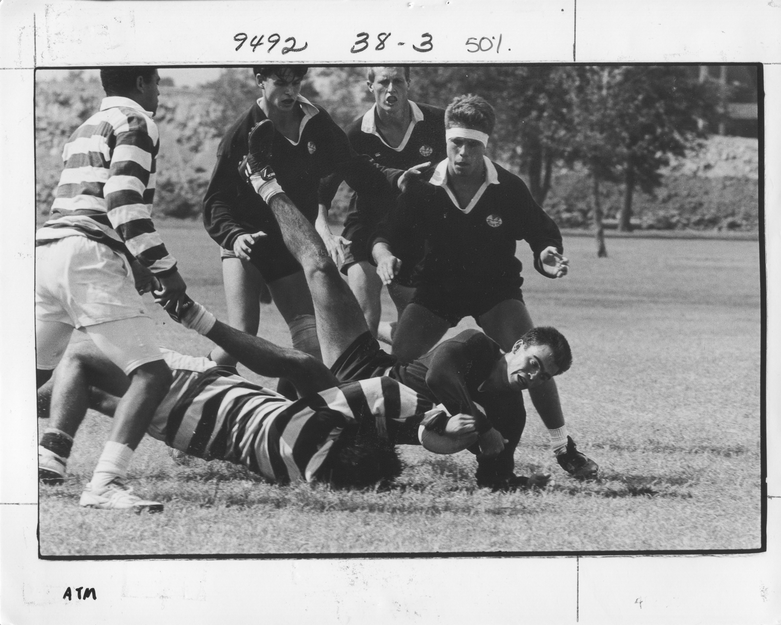 90.19 Sam Johnson - SJ 1990 Rice RFC (9 of 16).jpg