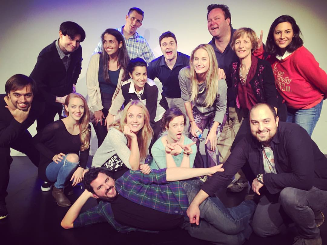 Couldn't of had more #fun @thegroundlings last night doing my #powerwow #improv #show #funnypeople #comedy #g3stage #hollywood #losangeles