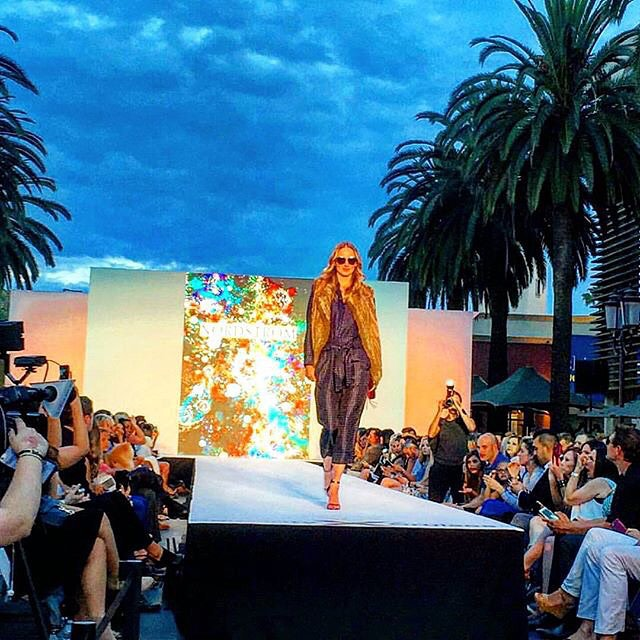 Sometimes you just have to sing #rightsaidfred on the #catwalk #swoc #styleweekoc @koziakproductions @lamodelsrunway