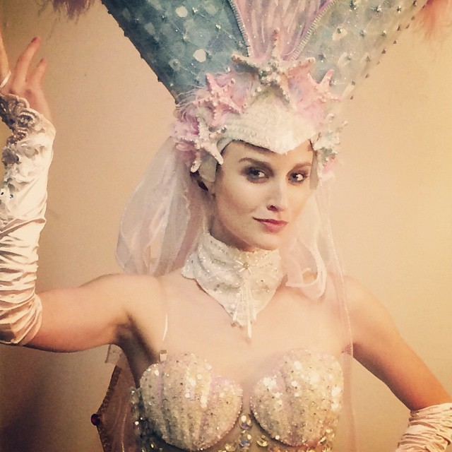 When you can hear the #ocean from your chest #seashells for days! #Latergram #fidm #brazil #showgirl #model #fashion #costume