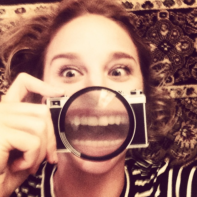 #happy chewsday ! Felt like magnifying the #smile