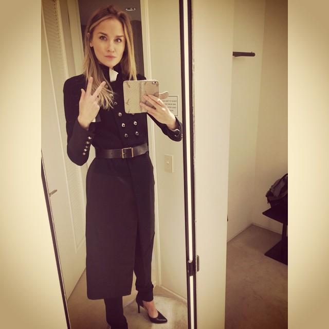 Felt pretty #hot in #DonnaKaren @saksbeverlyhills Me wants it! #Latergram #model #blonde #blueeyes #fashion #trunkshow @lamodelsrunway #hotgirl