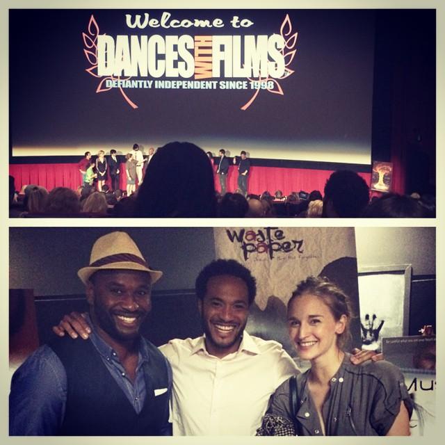 @danceswithfilms #screening for #wastepaper @mykeeselkin @willblagrove @esperstudio #chinesegraumantheater #hollywood