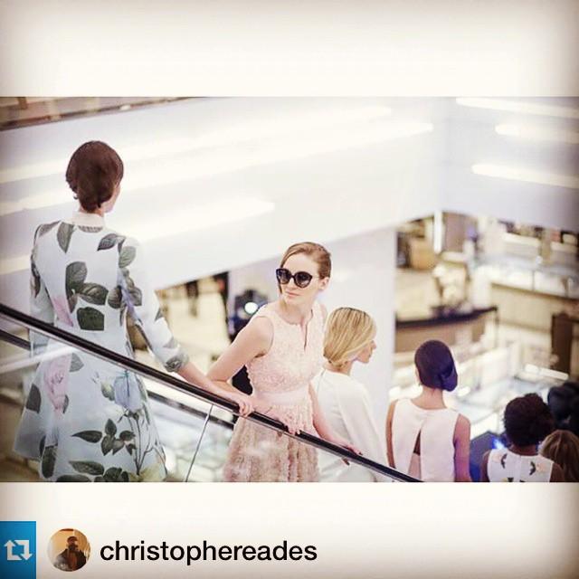 #fashion descending @christophereades #nordstromott #live mannequins #modeling #work @angiesmodels @lamodelsrunway #ottawa #canadianmodel