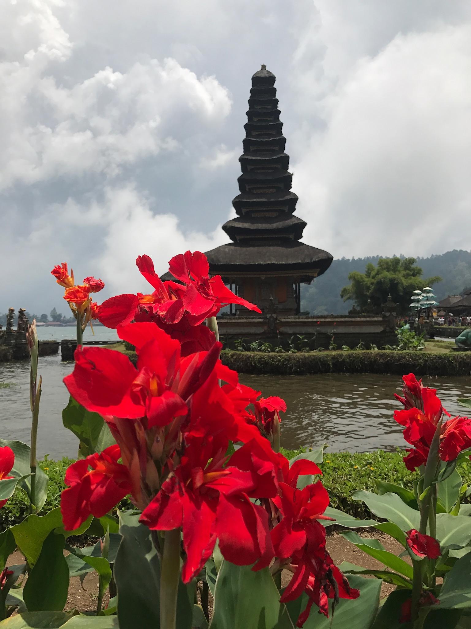 The  Ulun Danu Bratan Temple 'Floating' Temple