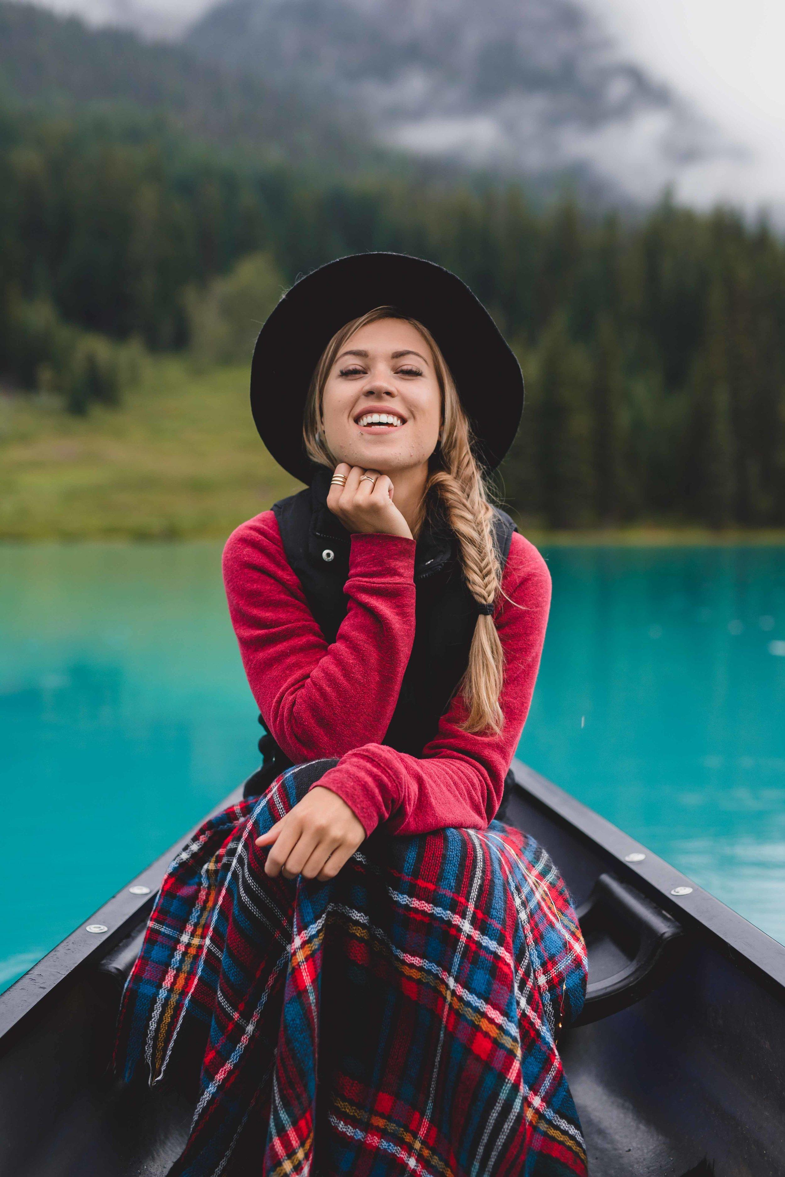Canoeing in Emerald Lake  $90/1 hour