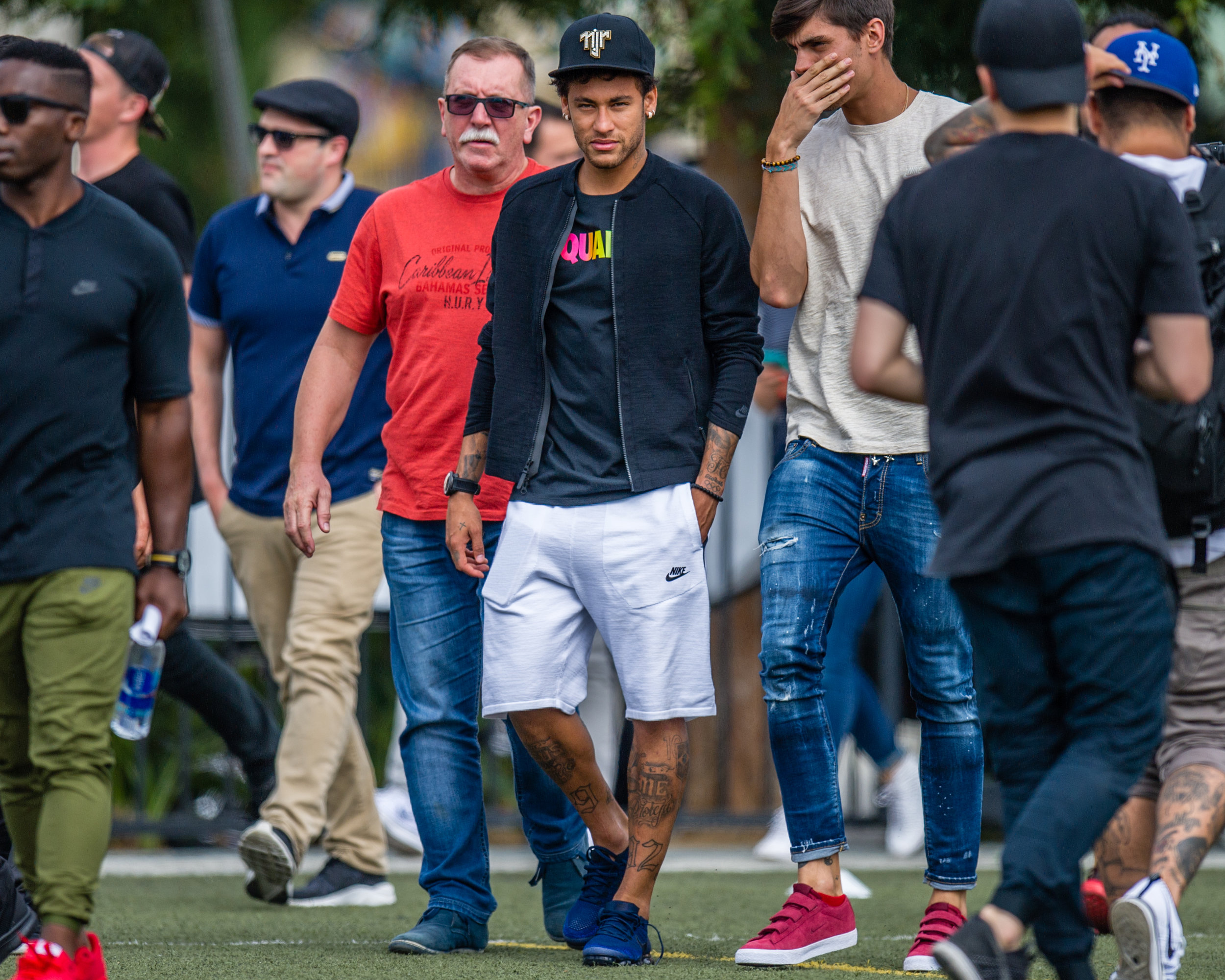 neymar jr in la - neymar x vbfc