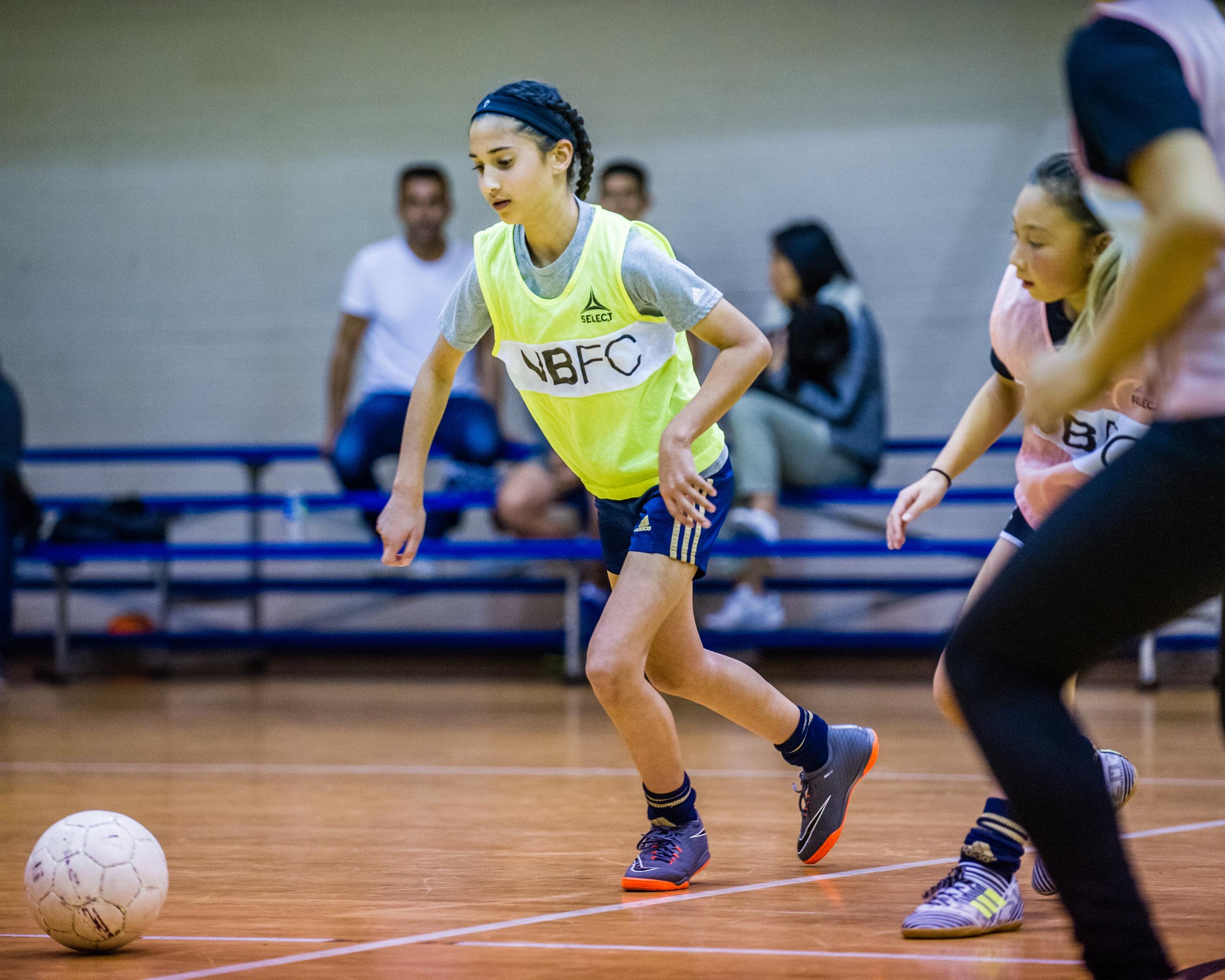 futsal club session one - Girls futsal talent