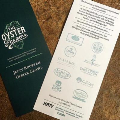 Jetty Rocktail Oyster Crawl   September 25-October 3, 2016  LBI, NJ