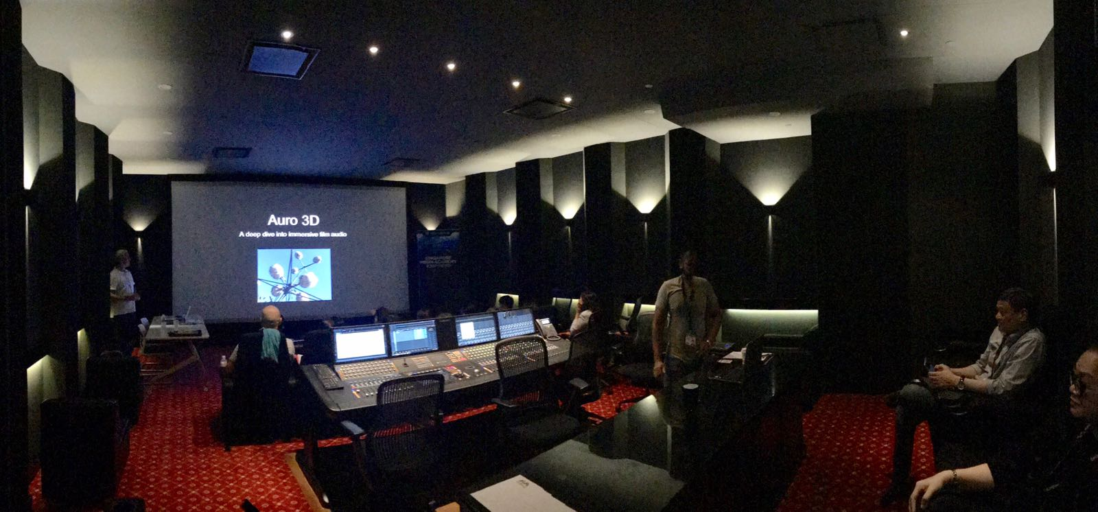 Movie Mixing Studio, Mediacorp Audio Post,