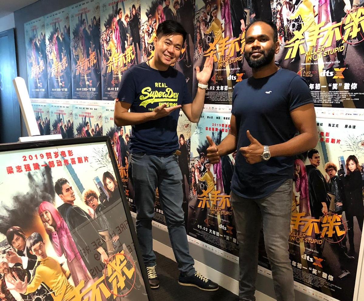 Chin Liang and Naveen