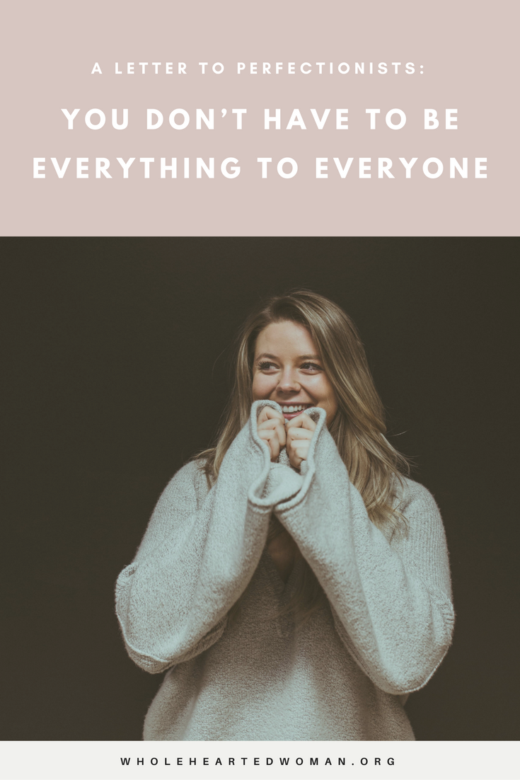 Are you an overachieving perfectionist? This letter is for you.   Life Advice   Personal Development   Creative Living
