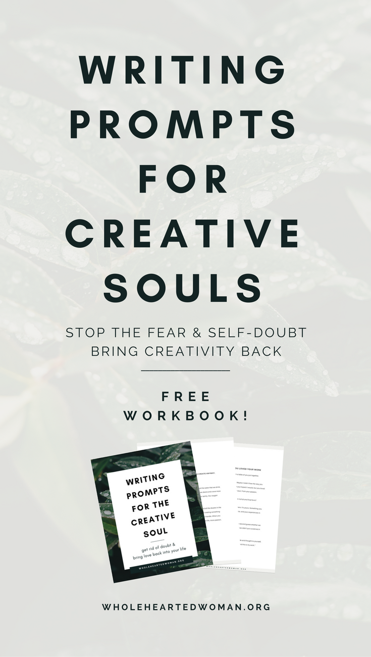 Free Writing Prompts For The Creative Soul | Free Resource | Journaling Ideas | Finding Yourself | Personal Development