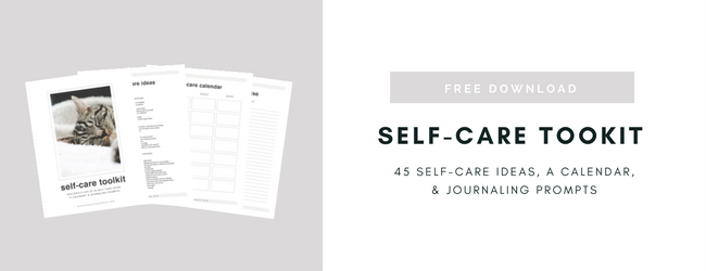 * Click here to download my free self-care toolkit! *