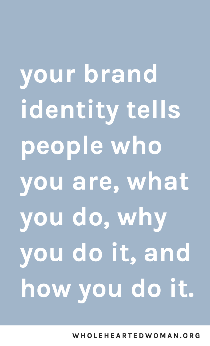 Knowing Your Brand Story: 3 Questions To Ask Yourself   Figuring Out Your Brand Identity   Brand Awareness   Building A Community Online   Advice for Small Businesses and Creatives   What Is Brand Identity and Why Is It Important   Tips For Building A Personal Brand   How To Start Your Own Brand   What Does Your Personal Brand Mean   How Do You Build A Brand Identity   Wholehearted Woman   #branding #personalbrand #blogging #marketing #smallbusiness