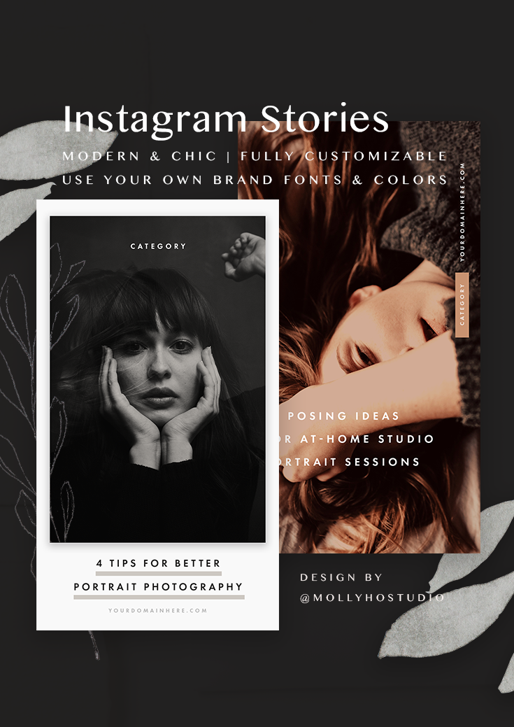 Instagram Stories | Instagram Story Templates | Instagram for Business | Schedule Your Instagram Posts | How To Grow Your Instagram | Social Media Templates | Design Templates for Creative Entrepreneurs | Instagram Highlights & Stories | Design Inspiration | Graphic Design | Grow Your Business on Instagram | Molly Ho Studio