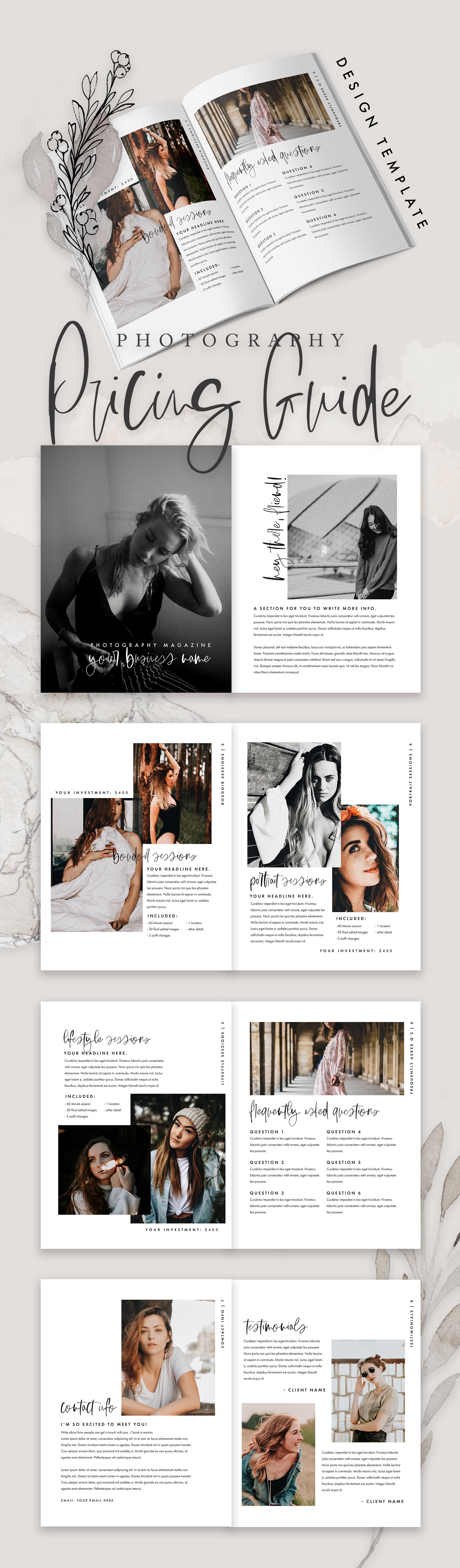 portfolio: pdf design — molly ho studio