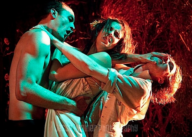 A Midsummer Night's Dream , staged by The Mechanicals in 2011. Photo credit: Jesse Kramer.