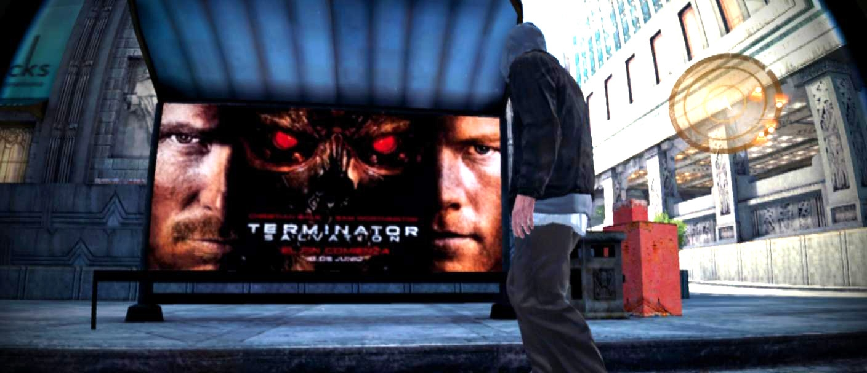 terminator ingame publicidad